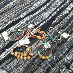 🍁 NWT 31Bits Africa ethnic paper Anthropologie